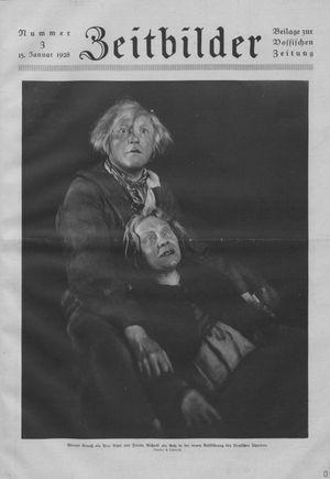 Zeitbilder on Jan 15, 1928