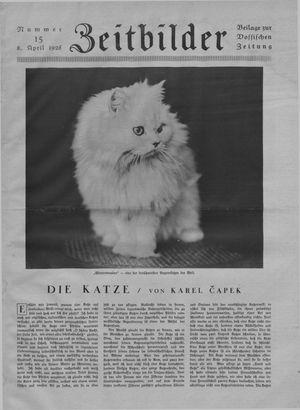 Zeitbilder on Apr 8, 1928