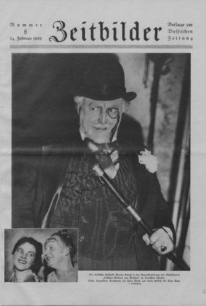 Zeitbilder vom 24.02.1929