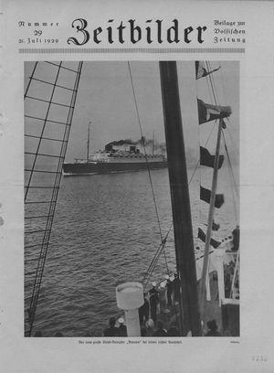 Zeitbilder vom 21.07.1929