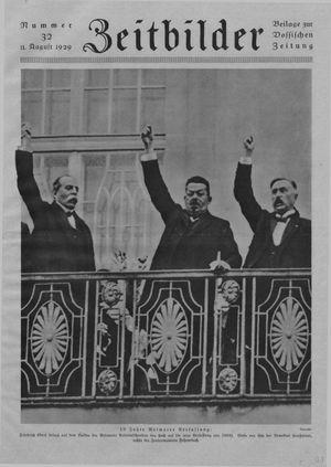 Zeitbilder vom 11.08.1929