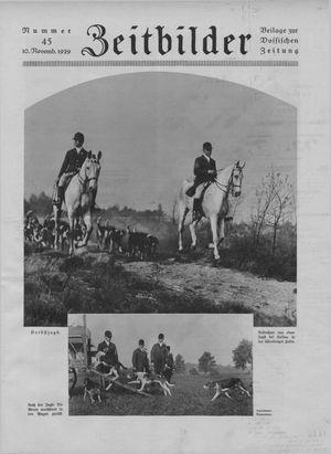 Zeitbilder vom 10.11.1929