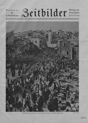 Zeitbilder vom 22.12.1929