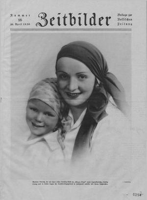 Zeitbilder vom 20.04.1930