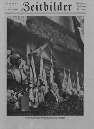 Zeitbilder on Jan 25, 1931