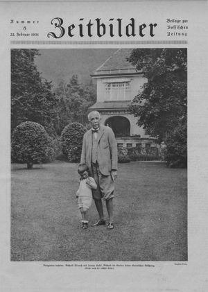 Zeitbilder on Feb 22, 1931