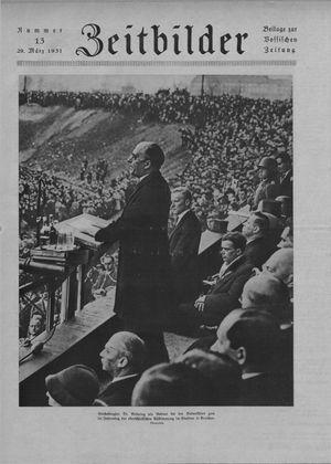 Zeitbilder vom 29.03.1931