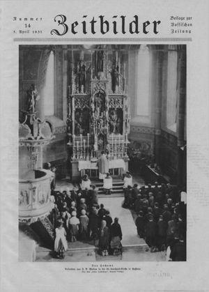 Zeitbilder vom 05.04.1931