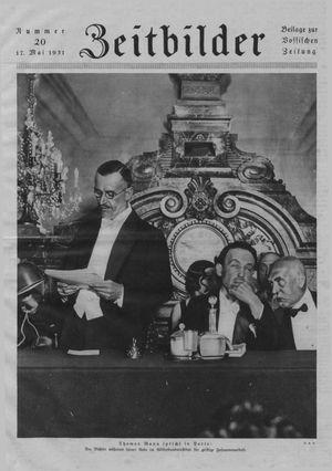 Zeitbilder vom 17.05.1931