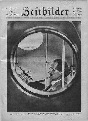 Zeitbilder on May 31, 1931