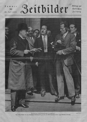 Zeitbilder vom 26.07.1931
