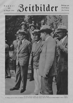 Zeitbilder vom 16.08.1931