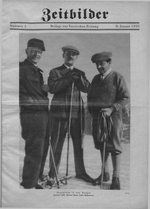 Zeitbilder vom 08.01.1933