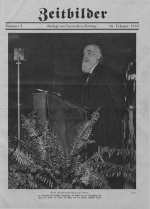 Zeitbilder on Feb 26, 1933