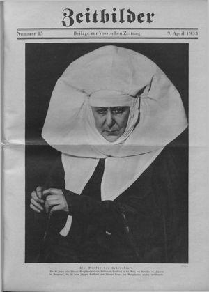 Zeitbilder vom 09.04.1933
