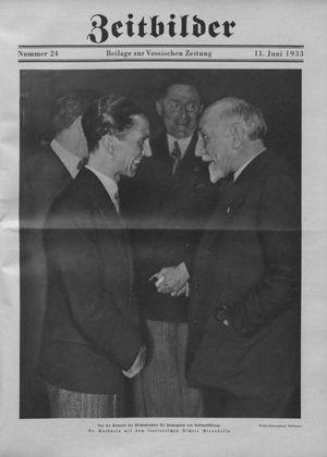 Zeitbilder vom 11.06.1933