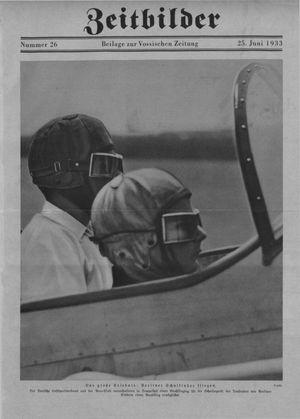 Zeitbilder vom 25.06.1933