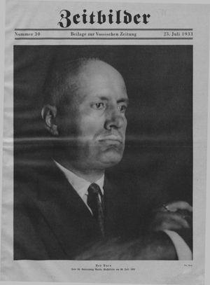 Zeitbilder vom 23.07.1933