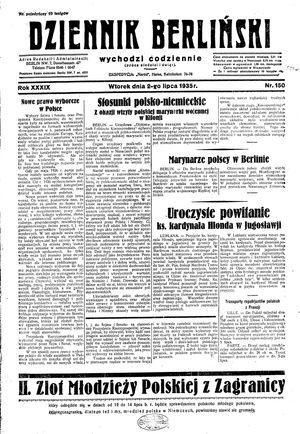Dziennik Berliński vom 02.07.1935