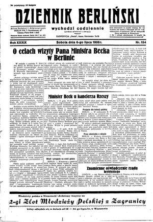 Dziennik Berliński vom 06.07.1935