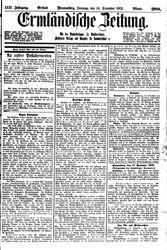 Ermländische Zeitung (14.12.1902)