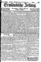 Ermländische Zeitung (25.03.1904)