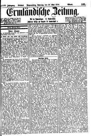 Ermländische Zeitung vom 29.05.1904