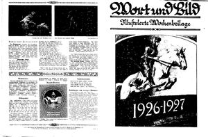 Fehrbelliner Zeitung vom 01.01.1927
