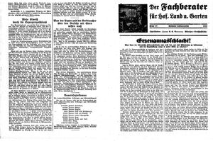 Fehrbelliner Zeitung vom 21.02.1935