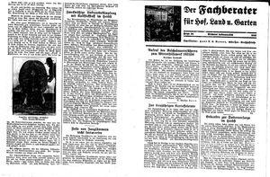Fehrbelliner Zeitung vom 13.11.1935