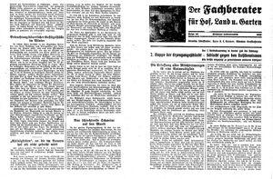 Fehrbelliner Zeitung vom 11.12.1935