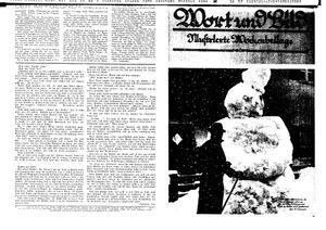 Fehrbelliner Zeitung vom 10.02.1939