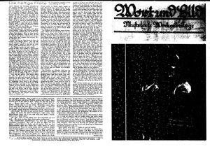 Fehrbelliner Zeitung vom 26.05.1939