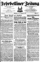 Fehrbelliner Zeitung (18.12.1940)