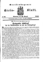 Greifenhagener Kreisblatt