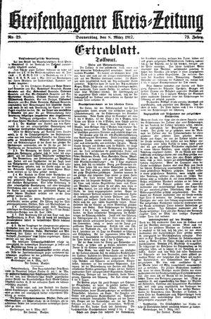 Greifenhagener Kreiszeitung vom 08.03.1917