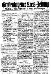 Greifenhagener Kreiszeitung