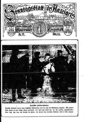 Guhrauer Anzeiger an der Schlesisch-Posener Grenze on Jan 23, 1915