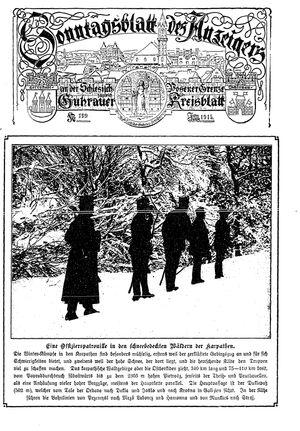 Guhrauer Anzeiger an der Schlesisch-Posener Grenze vom 20.02.1915