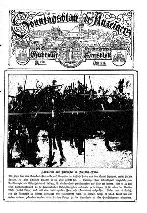 Guhrauer Anzeiger an der Schlesisch-Posener Grenze vom 27.02.1915