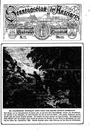 Guhrauer Anzeiger an der Schlesisch-Posener Grenze vom 23.03.1915