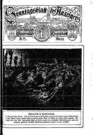 Guhrauer Anzeiger an der Schlesisch-Posener Grenze vom 17.04.1915