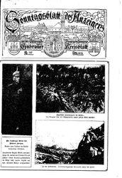 Guhrauer Anzeiger an der Schlesisch-Posener Grenze (18.12.1915)