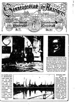 Guhrauer Anzeiger an der Schlesisch-Posener Grenze on Mar 4, 1917