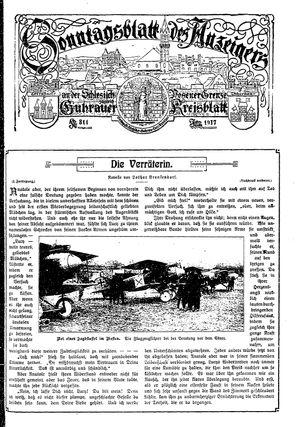 Guhrauer Anzeiger an der Schlesisch-Posener Grenze vom 06.05.1917