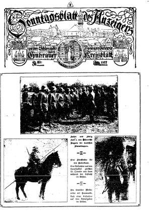 Guhrauer Anzeiger an der Schlesisch-Posener Grenze vom 17.06.1917