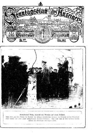 Guhrauer Anzeiger an der Schlesisch-Posener Grenze on Jul 1, 1917