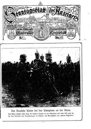 Guhrauer Anzeiger an der Schlesisch-Posener Grenze vom 19.07.1917
