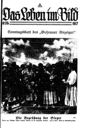 Guhrauer Anzeiger an der Schlesisch-Posener Grenze vom 02.10.1917