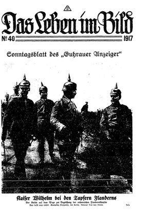Guhrauer Anzeiger an der Schlesisch-Posener Grenze vom 07.10.1917